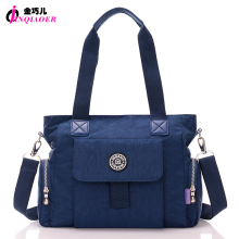 Buy JINQIAOER Original Brand Women Handbag New Tote Bags Simple Designer Waterproof Nylon Crossbody Bag Large Messenger Shoulder Bag for $31.72 in AliExpress store