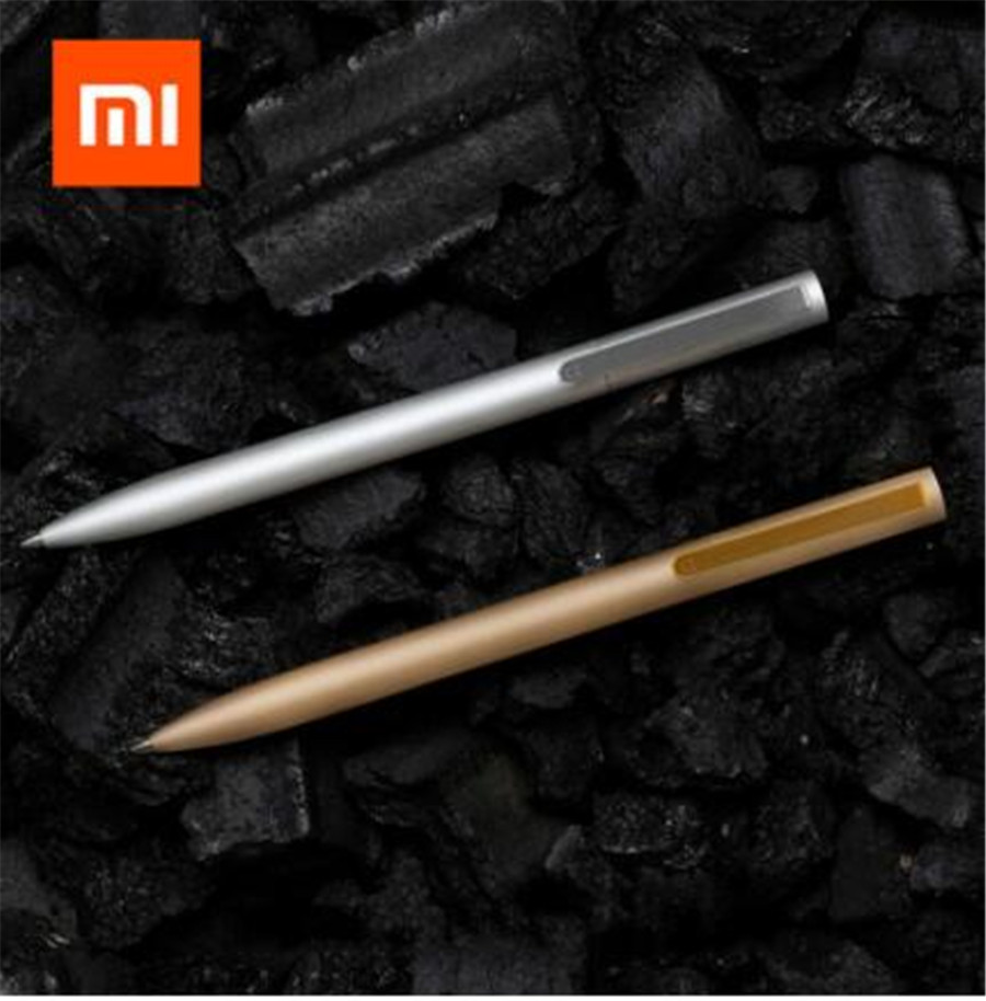 Original Xiaomi Mijia Metal Sign Pen Mijia Sign Pen Mijia Ink Japan Durable Signing 0.5mm Metal Pen PREMEC Switzerland Refill
