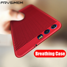 Frvsimem Hard PC Full Protector For Huawei P8 Lite 2017 P9 Lite P10 Lite Y5 II Y6 II Honor 6X 8 9 Mobile Phone Case Cover Capa(China)