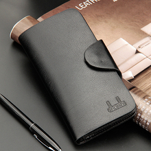 Hot Sale Fashion Business Casual New Men's Purse Practical Quality Hasp Black Coffee 3 Folds Colors ID Credit Card Holder Wallet(China)