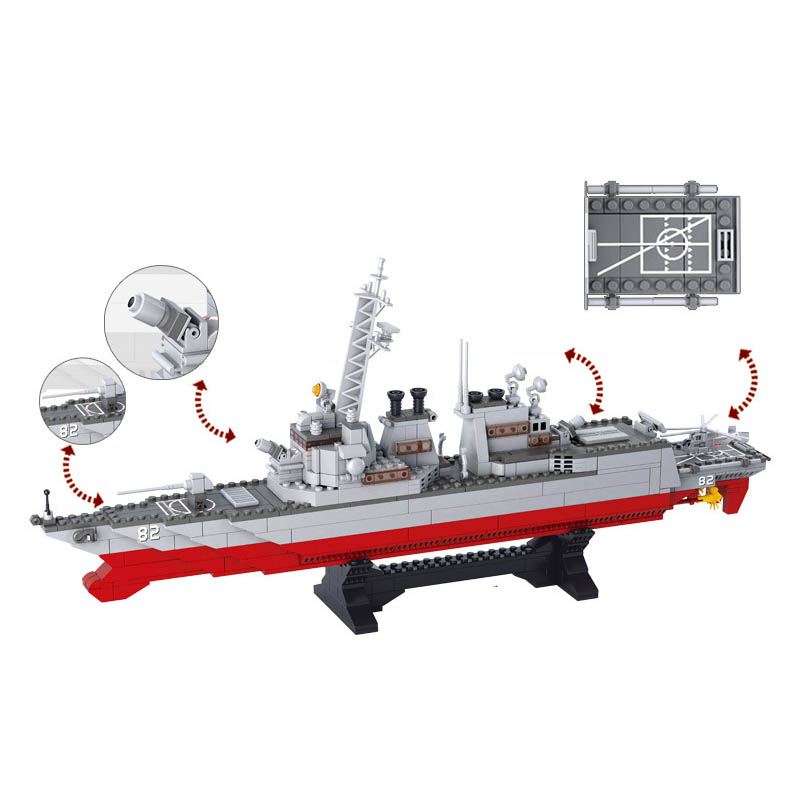 Cool Carrier Carrier Destroyer Model Building Block Amazing Birthday Gift For Children Perfect Compatible With Legoings3