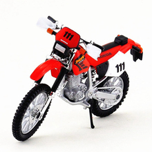 Maisto 1:18 Metal Mountain Bike Toy, Simulation HONDA XR400R Motorcycle Decoration, Toys Cars For Kids, Brinquedos Boys Gift