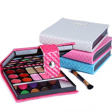 Long Lasting Cosmetic Eye Shadow 32 Colors Bright Makeup Eyeshadow Palette
