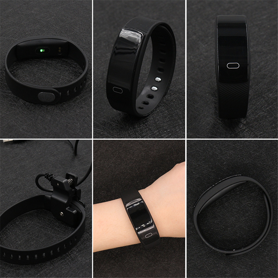 image for Teamyo QS80 Smart Band Heart Rate Monitor Blood Pressure Watch Fitness