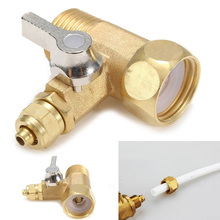 1/2'' To 1/4'' Faucet Water Filter Ball Valve Reverse Osmosis System RO Feed Ball Valve for Home Water Purifier Tap