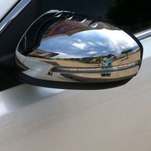 FIT FOR KIA OPTIMA 2011 2012 2013 2014 TF CHROME SIDE MIRROR COVER TRIM MOLDING CAP OVERLAY GARNISH Accessories