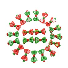 2017 Autumn New 10Pcs/lot Kids Hair Clips Christmas Theme Hairpins For Girls Mini Lovely BB Clip DIY Multicolor Optional(China)