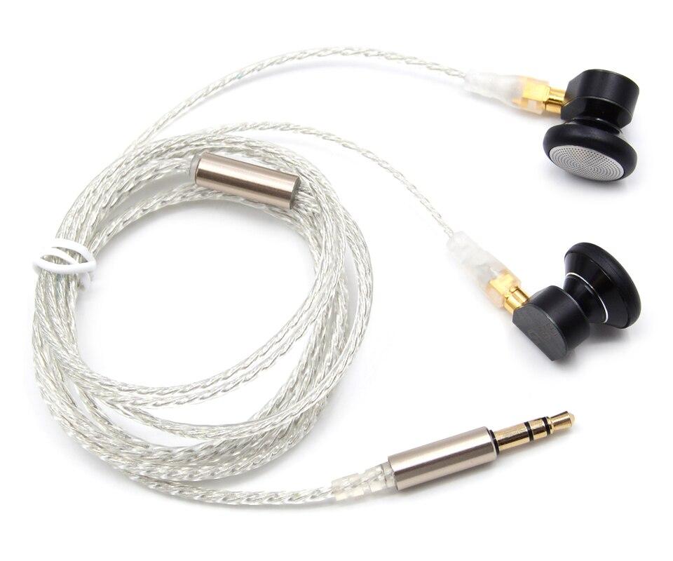 New SVARA SVARA-L Earbud Flat Head Earphone HIFI Monitor Earbud Earphone Top Sound Bass Earbud With MMCX Interface Free Shipping