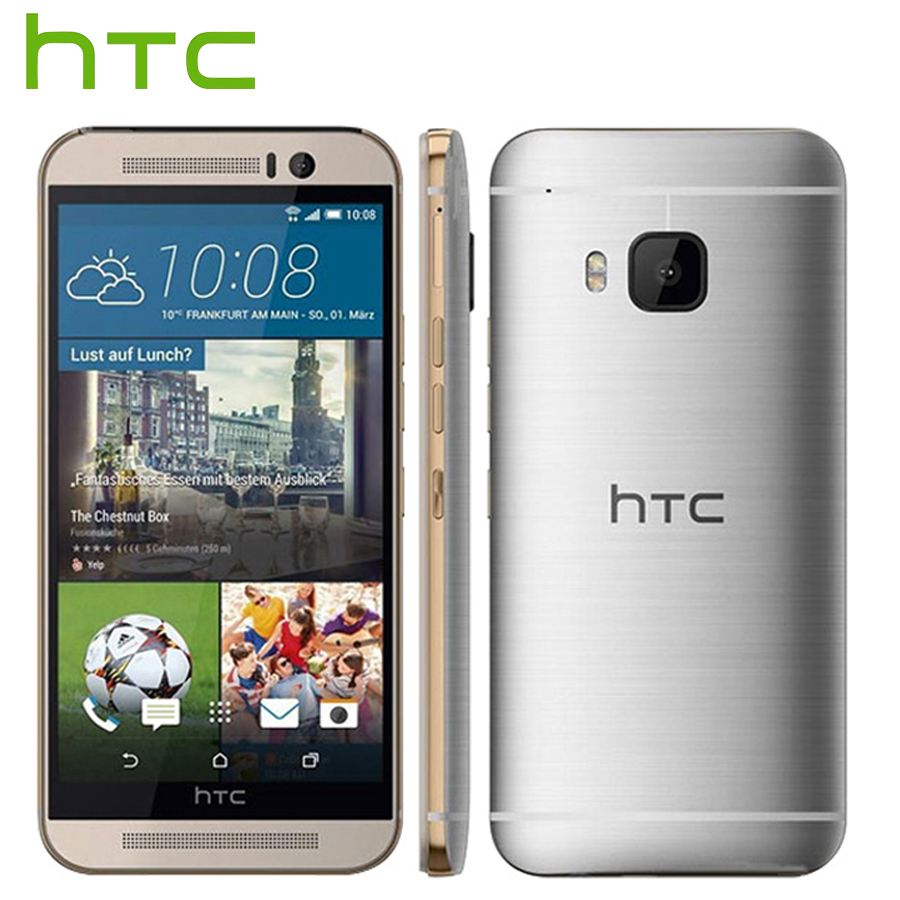 Brand New HTC One M9 M9e 4G LTE Mobile Phone Octa Core 2GB RAM 16GB ROM 5.0 inch 1920x1080 Dual Camera 20MP 2840 mAH SmartPhone(China)