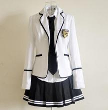 Adult Naughty Japan Korea England School Costume preppy chic Popular lovely womens Costumes schoolgirls crew neck party costumes