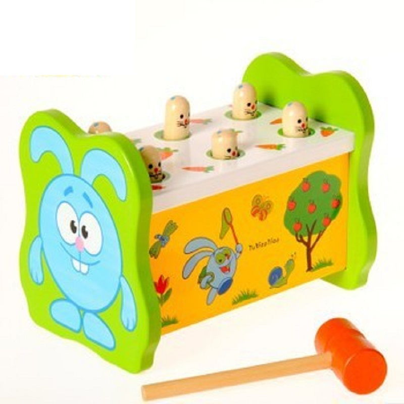 New Funny Game For Children Wooden Block Toys Percussion Set Early Learning Baby Toys High Quality D256<br>