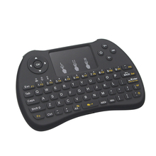 Mutilfunction 2.4G Wireless Keyboard With Touchpad Raspberry pi 3 Remote Control Touchpad Keyboard For Android TV Box(China)