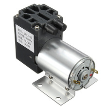 12V 6W Mini Vacuum Pump High Pressure Electric Diaphragm Pump with Holder 5L/min(China)