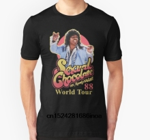 Buy Fashion Cool Men T shirt Women Funny tshirt RANDY WATSON - SEXUAL CHOCOLATE WORLD TOUR 88 Customized Printed T-Shirt