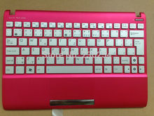 New SL Slovakia Keyboard for asus Asus Eee PC 1025C 1025CE Slovakian SL white With Blue or red C Case Laptop Keyboard