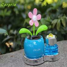 Dropship Hot Selling Solar Powered Dancing Flower Swinging Animated Dancer Toy Car Decoration New Gift Aug 24