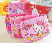 Super CUTE Hello Kitty 10CM Approx. Gift Coin Purse BAG Pouch ; 1Piece Random model Kid Girl's Pocket Coin BAG Pouch Case