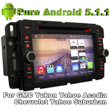 Pure Android 5.1.1 Car DVD for Chevrolet Express Traverse Tahoe Suburban 2007-2012 With Quad Core 2G ROM Bluetooth