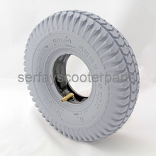 "CST Cheng Shin mobility scooter gray tire 10"" 260*85 3.00-4 mobility scooter tire"