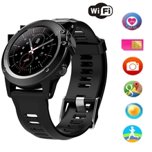 H1 Smart Watch With GPS Wifi 3G Camera Smartwatch MTK6572 IP68 Waterproof 400*400 Heart Rate Monitor 4GB/512MB For Android IOS