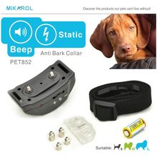 Anti barking collar small dog electronic shock collar stop bark control terminator electric for puppy dogs