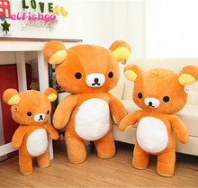 Janpanese Kawaii Rilakkuma Plush, Cute Japanese Stuffed Animals Doll, Rilakkuma Pillow Teddy Bears Plush Toy Doll 35cm
