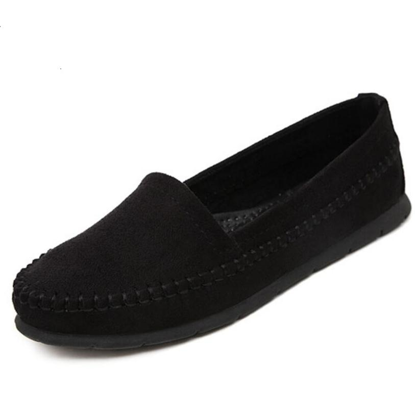 Brand Classic Loafers Shoes Casual Women Flats Candy Color Soft Bottom Pregnant Woman Shoes Comfortable Driving Shoes 4 Colors <br><br>Aliexpress