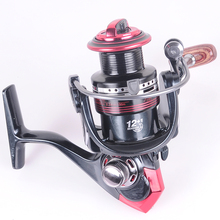 German Technology 12BB + 1 Bearing Balls 3000 6000 Series Spinning Reel Discount Hot Sale for Shimano Feeder Fishing reel pesca(China)