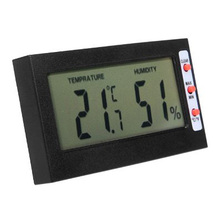 AYHF-LCD Screen Digital Thermometer C / F hygrometer Max Min Memory temperature / humidity Celsius Fahrenheit