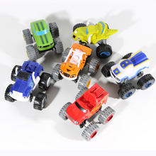 Children's Car Blaze Toys Vehicle Car Transformation Mud Racing Crush Zeg Model Toy
