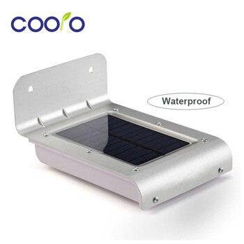 New LED Soalr Light 2nd Generation 16LEDs Outdoor Wireless Solar Powered PIR Motion Sensor Light Wall light Led sensor lamp