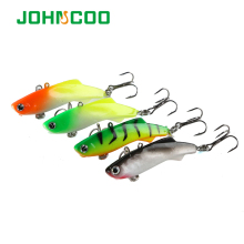 JOHNCOO 4pcs Soft Lead Fish Fishing Lure 8.5g 16.7g Pesca Silicone Artificial Bait Jig Wobblers Rubber Sharp Hook Soft Bait