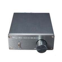 High quality Breeze Audio HIFI Class 2.0 Stereo Digital Amplifier TPA3116 Advanced 50W + 50W Mini Home Power Sound Amplifiers
