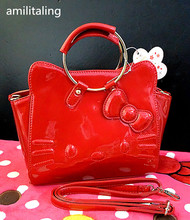 New Hello kitty Handbag with Shoulder Strap Bag Purse yey-14528