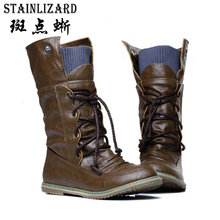 New Winter Ankle Boots For Women Snow Boot Casual Comfortable Lace Up Autumn Footwear Female Flat Ladies Boots Women Shoe AGT674