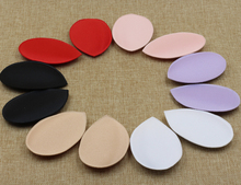 10pairs/lot women's Invisible Push Up Foam Sponge Inserts Bra Pads Swimsuit Underwear Bikini Soft 6 colors(China)