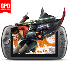 GPD Q9 RK-3288 2G/16G 7' game tablet PC quad core IPS Linux  game player gamepad video game player Handheld Game Console