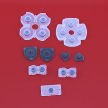 10sets Soft Rubber Replacement Silicone Conductive Adhesive Button Pad keypads for Sony PS4 PlayStation 4 DualShock Controller