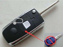 1 Button Blank modified flip folding remote key shell for Fiat Palio Weekend FOB Car Key Blanks Case