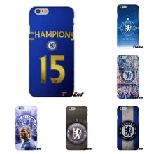 For iPhone 4 4S 5 5S 5C SE 6 6S 7 Plus Galaxy Grand Core Prime Alpha Chelsea Football Club Blue is the Colour Silicone Soft Case(China)