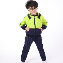 Spring and Autumn Winter Nursery School Uniforms  New School Uniforms To Fight Color Suit Sports Clothing Wholesale Violence