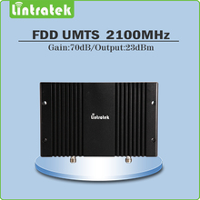 3g repeater 2100mhz Gain 70dB  umts wcdma 2100mhz repeater booster cell phone signal Amplifier with lcd display and AGC/MGC