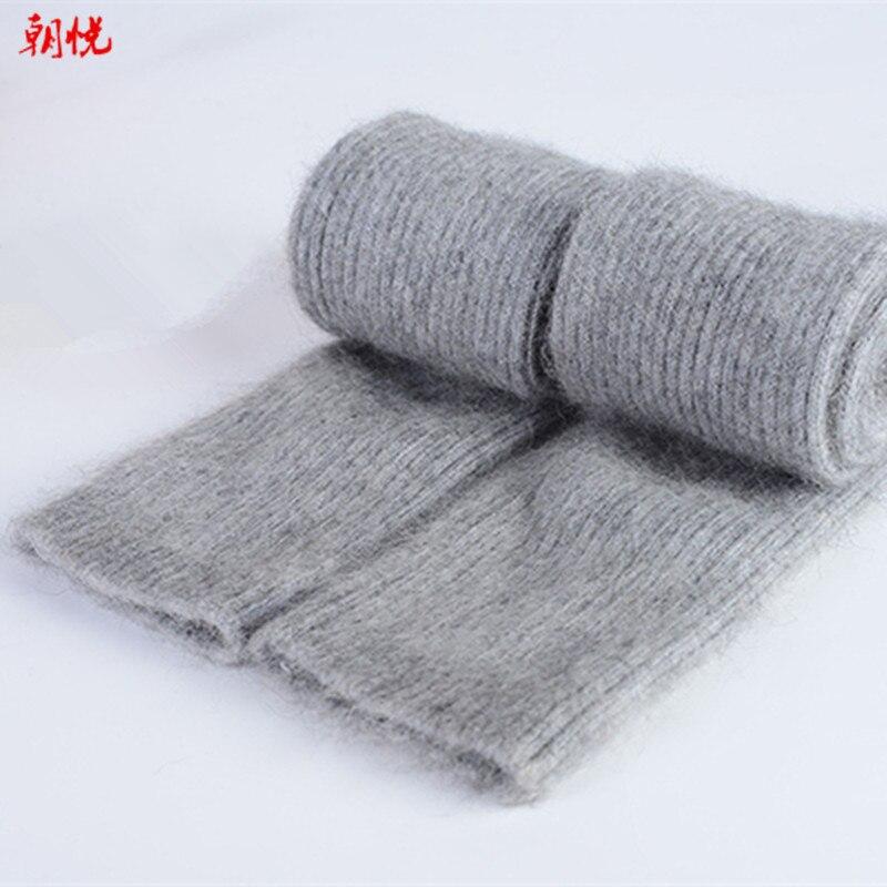 Damen-accessoires Großhandel Herbst Winter 60 Cm Frauen Wolle Armlinge Gestrickte Woll Arm Sleeve Solide Super Lange Strickhandschuhe Produkte HeißEr Verkauf