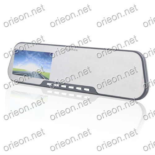 """Free shipping 1pc/lot new 2.7"""" Car Rear View Mirror Monitor Driving Video Recorder with adjusted Lens,Car black box  (OE270MR)"""