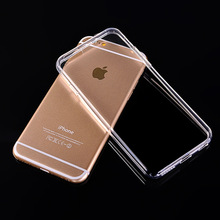 Popular 0.5mm Ultra-thin Clear Transparent Phone House for iPhone 4 4S 5 5S Soft TPU Silicon Protectors on Sale Phone Accessory