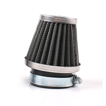 MAYITR 48mm Air Intake Filter Universal Motorcycle Bike Turbo Vent Mushroom Head Air Intake Crankcase Breather Cleaner