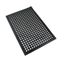1Pc Anti-Fatigue Non-Slip Safety Home Rubber Porous Floor Door Wet Room Stable Mats 914*1524*12.7mm