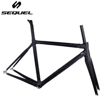 Clearance sale cheap carbon frame road bike SEQUEL raw frame in stock can be sent immediately 3k BSA good quality customizable(China)