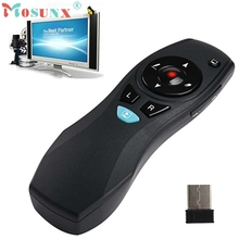 Del  A3 2.4G Wireless Fly Air Mouse Remote Control for PC Smart TV Box Andriod Dongle May26