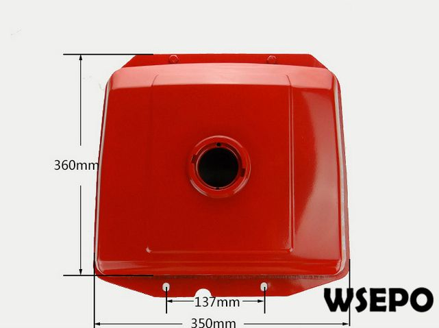 OEM Quality! Diesel Fuel Tank for L24/L28/L32 4 Stroke Single Cylinder Small Water Cooled Diesel Engine<br>